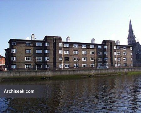 1936 – Thorncastle Street Flats, Ringsend, Dublin