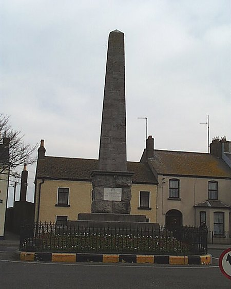 1870 – Hamilton Monument, Skerries, Co. Dublin