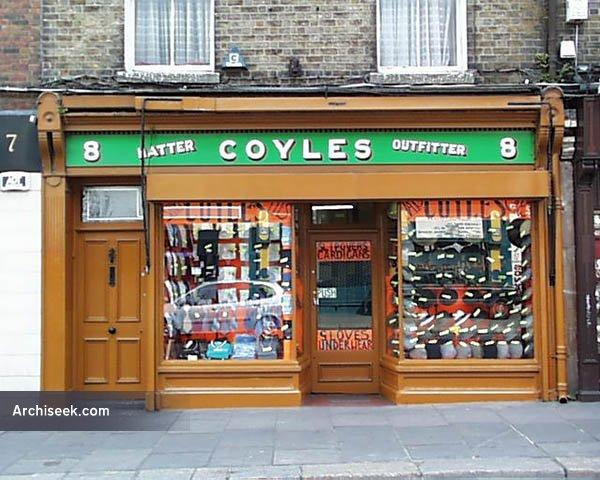 1890s – Coyles, 8 Aungier Street, Dublin