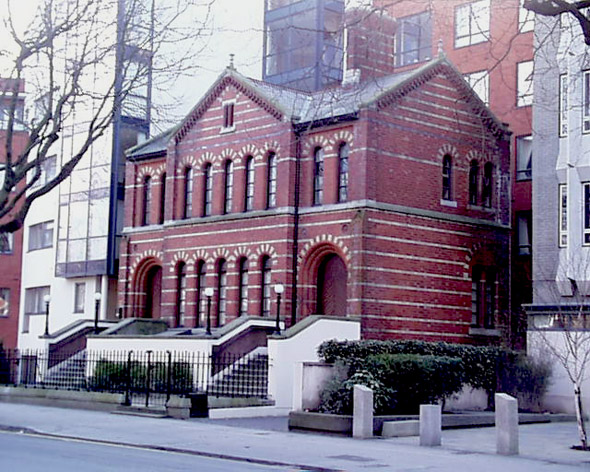 1892 &#8211; Former Synagogue, Adelaide Road, Dublin