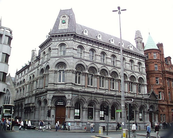 1867 &#8211; National Irish Bank, College Green, Dublin