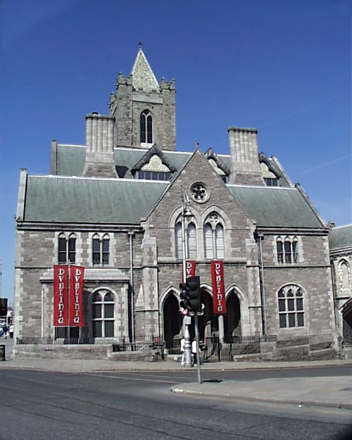 1890 – St Michael's Church (Synod Hall), Christchurch Place, Dublin