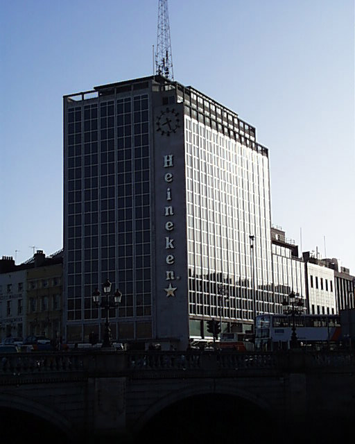 1965 – O'Connell Bridge House, D'Olier Street, Dublin