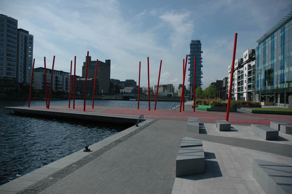 2007 – Grand Canal Square, Grand Canal Quay, Dublin