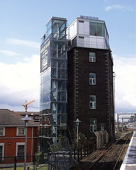 2002 &#8211; Water Tower, Grand Canal Quay, Dublin