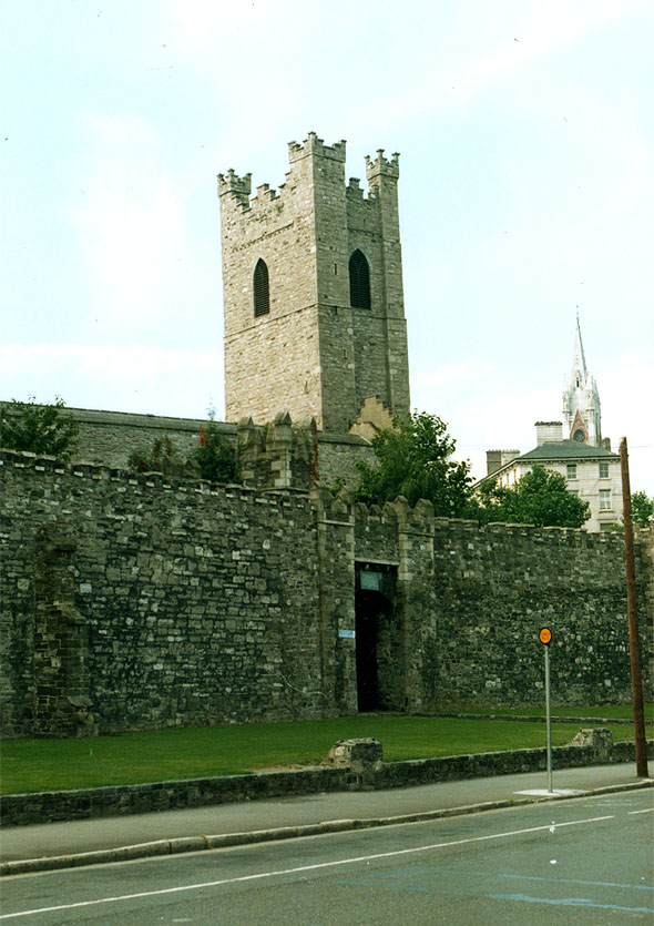 13th C. &#8211; St Audoen&#8217;s Gate, Dublin City Walls, High Street, Dublin