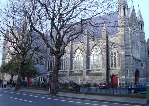 1872 – St. Kevin's Church, Harrington Street, Dublin