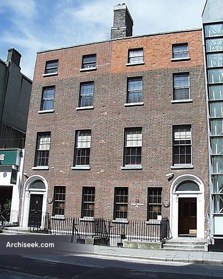 1790s – Nos. 3-4 Harcourt Street, Dublin