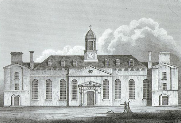 1798 &#8211; Foundling Hospital Dining Hall, Dublin