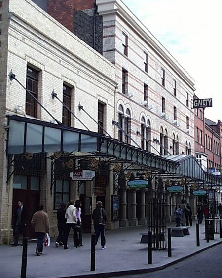 1871 – Gaiety Theatre, South King Street, Dublin