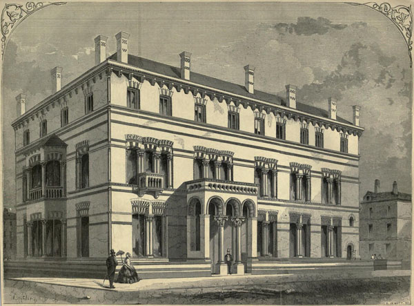1860 – Kildare Street Club, Kildare Street, Dublin
