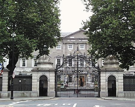1745 &#8211; Leinster House, Kildare Street, Dublin