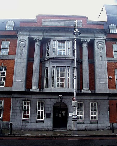 1927 – Dublin City Council Offices, Lord Edward Street, Dublin