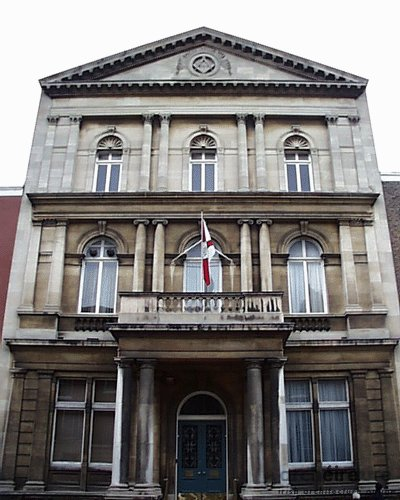 1868 – Masonic Lodge, Molesworth Street, Dublin