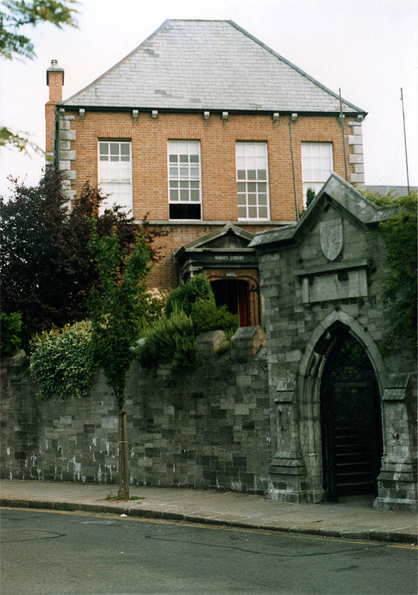 1701 &#8211; Marshe&#8217;s Library, St Patrick&#8217;s Close, Dublin