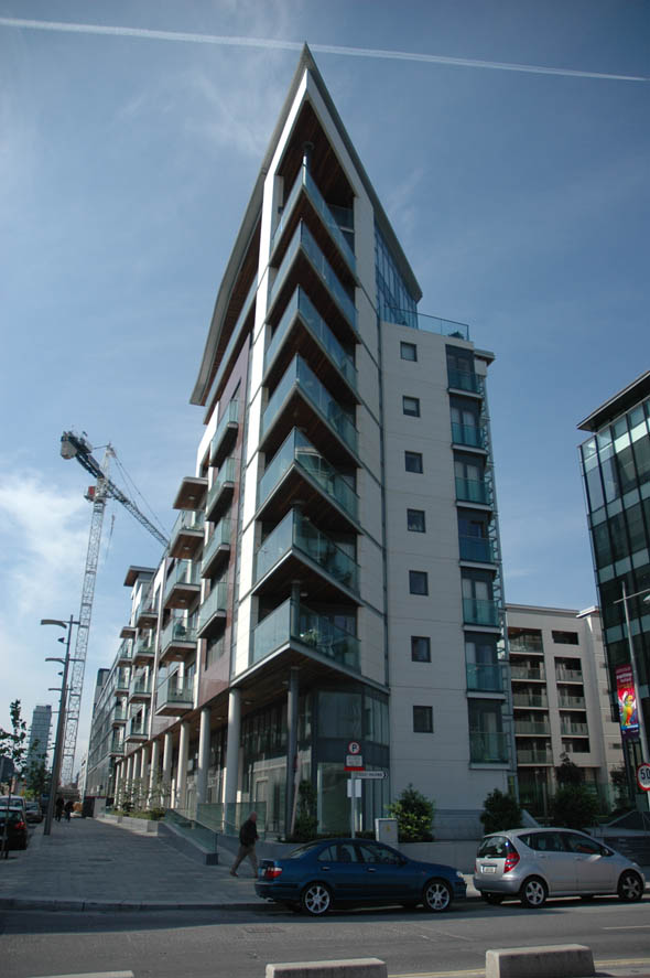 2006 &#8211; Forbes Quay Apartments, Sir John Rogerson&#8217;s Quay, Dublin