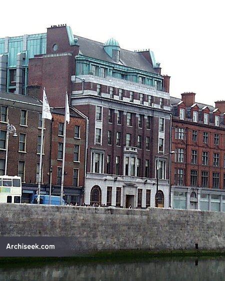 1939 – Clarence Hotel, Wellington Quay, Dublin