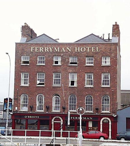 1780s &#8211; Ferryman Hotel, Sir John Rogerson&#8217;s Quay, Dublin