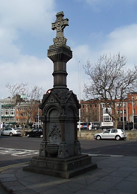 1905 – Sheehan Memorial, Burgh Quay, Dublin