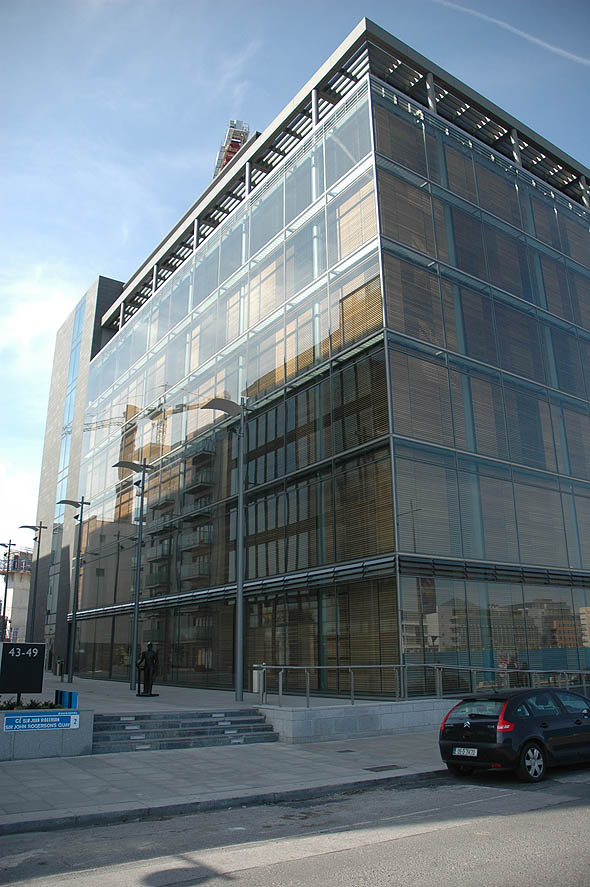 2006 &#8211; Riverside One, Sir John Rogerson&#8217;s Quay, Dublin