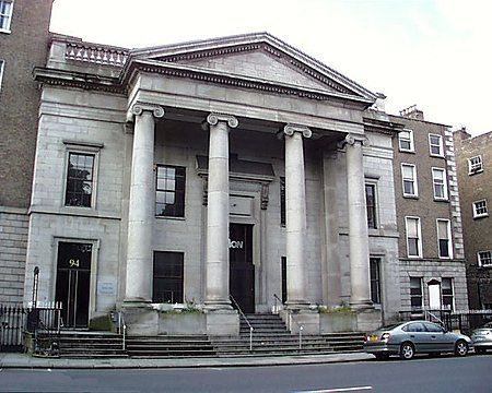 1843 – Former Methodist Centenary Church, St. Stephen's Green, Dublin