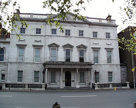 1862 – Iveagh House, St. Stephen's Green, Dublin