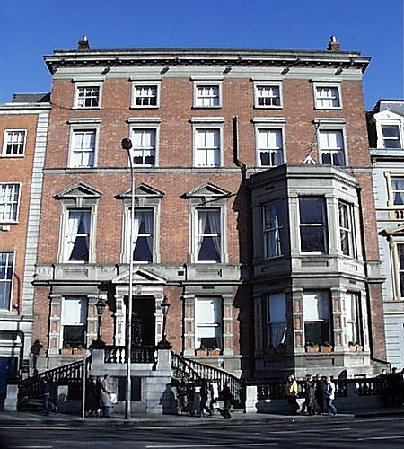 1852 – Former United Services Club, St. Stephen's Green, Dublin