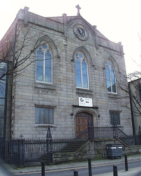 1813 – Former Church of St. Michael and John, Essex Quay, Dublin