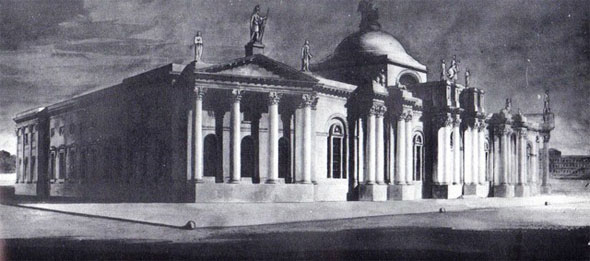 1799 &#8211; Unbuilt Dublin &#8211; Bank of Ireland