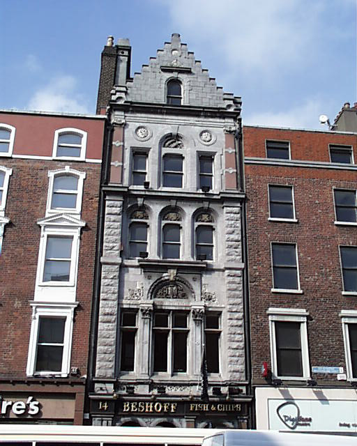 1866 &#8211; No.14 Westmoreland Street, Dublin
