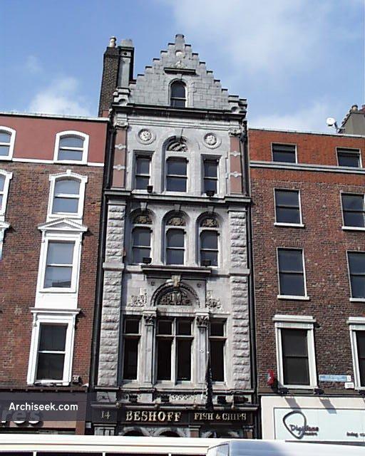 1866 – No.14 Westmoreland Street, Dublin