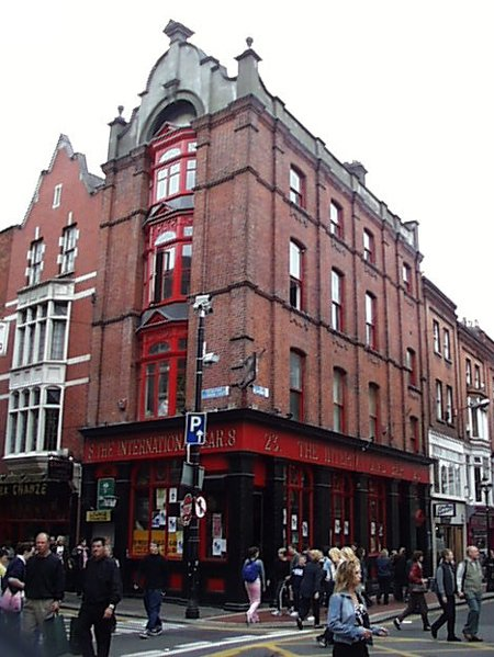 1911 – The International Bar, Wicklow Street, Dublin