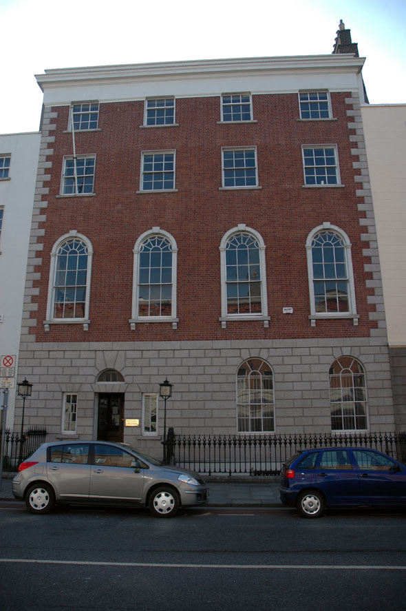1771 &#8211; Royal Irish Academy of Music No. 36 Westland Row, Dublin