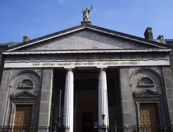 1843 – St. Andrew's Church, Westland Row, Dublin