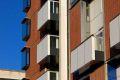 Sean Harrington Architects-York street housing windows brick detail corner