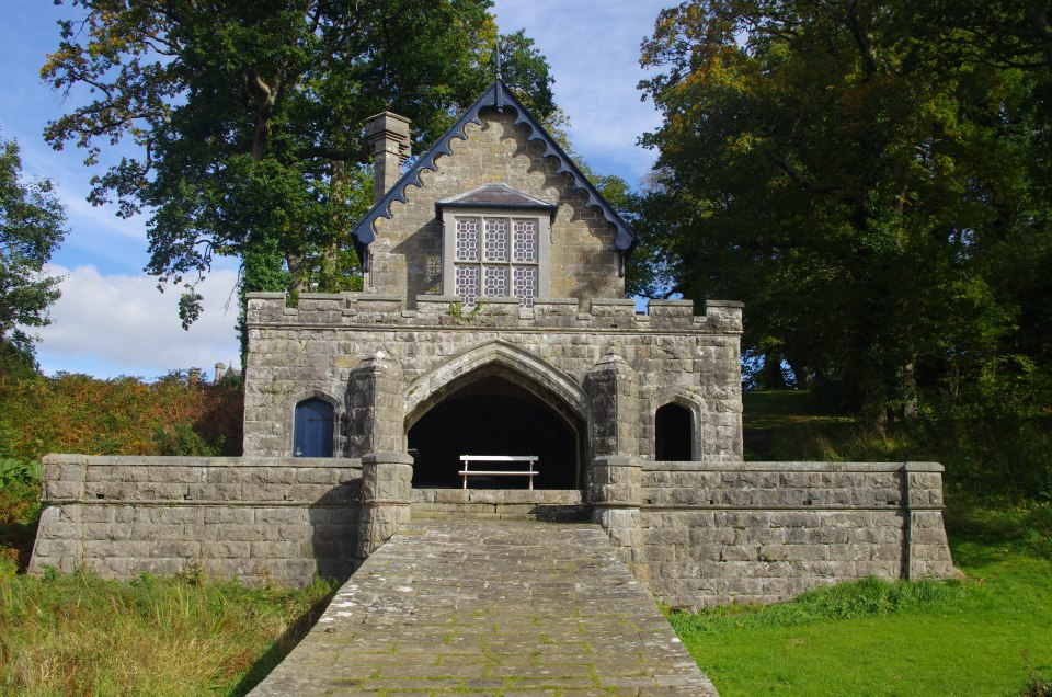 1841 &#8211; Boathouse, Crom Castle, Co. Fermanagh