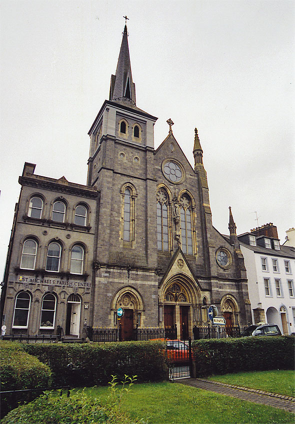 1875 &#8211; St Michael&#8217;s Roman Catholic Church, Enniskillen, Co. Fermanagh