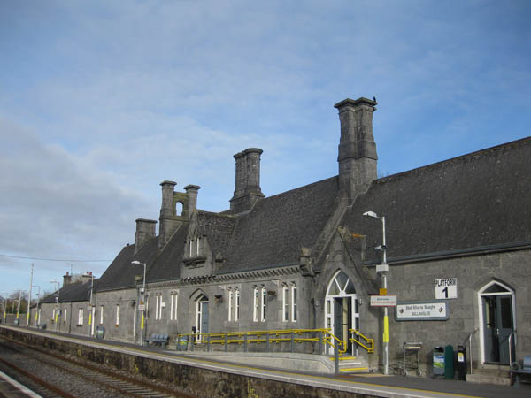 1851 &#8211; Railway Station, Ballinasloe, Co. Galway