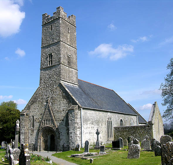 1664 &#8211; Clonfert Cathedral, Co. Galway