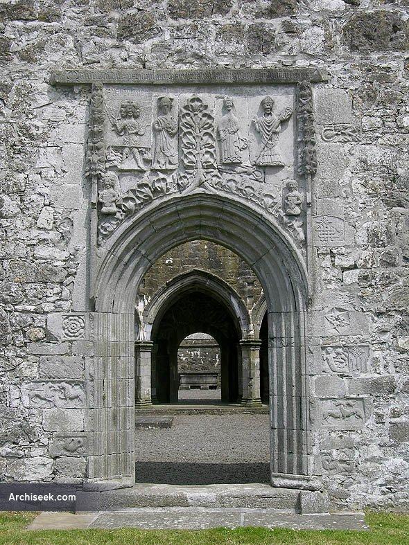 1404c – Clontuskert Abbey, Ballinasloe, Co. Galway