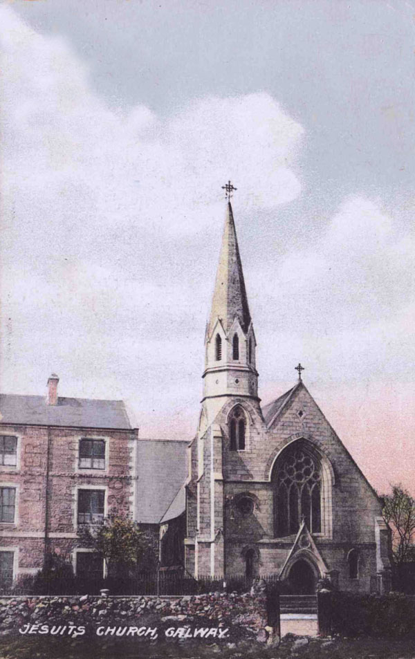 1863 &#8211; Jesuit Church, Galway