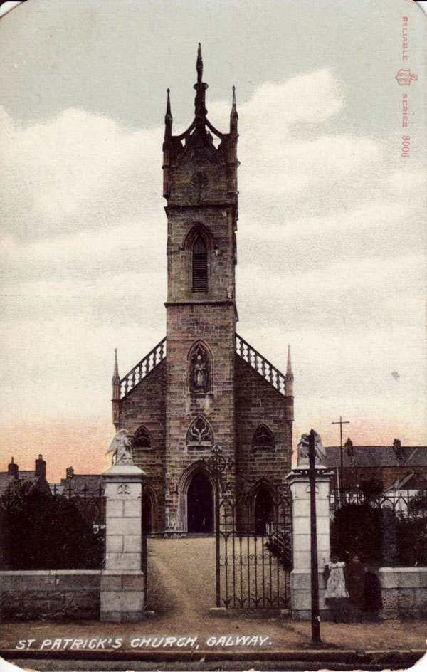1842 – St. Patrick's Church. Forster St., Galway