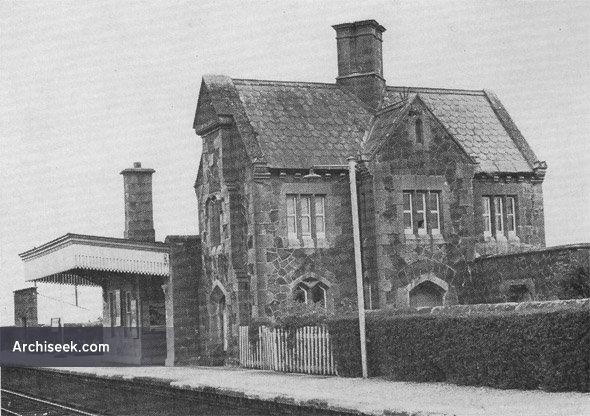 1858 – Woodlawn Railway Station, Co. Galway