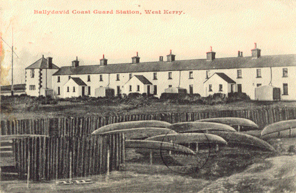 1889 &#8211; Coast Guard Station, Ballydavid, Co. Kerry