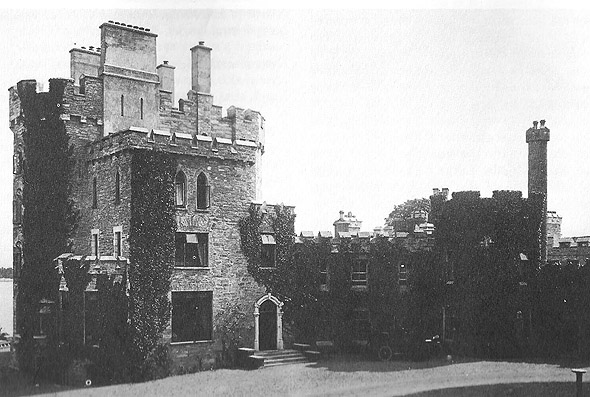 1860s – Derryquin Castle, Sneem, Co. Kerry