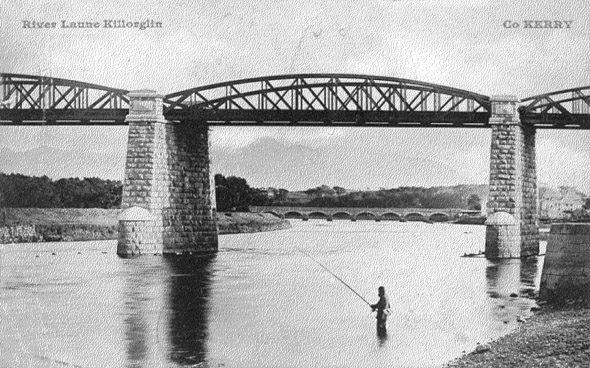 1885 &#8211; Railway Bridge, Killorglin, Co. Kerry