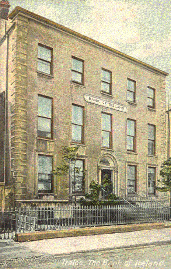 1870 &#8211; Bank of Ireland, Tralee, Co. Kerry