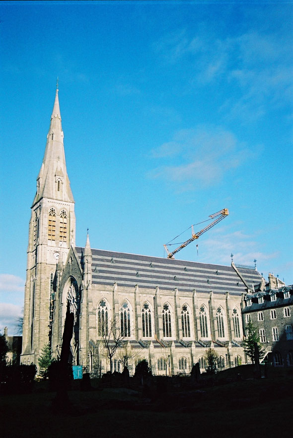 1888 &#8211; Maynooth College Chapel, Co. Kildare