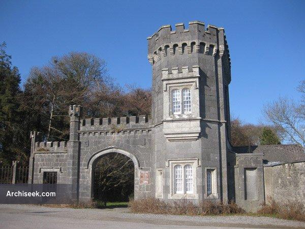 1845c – Gates of Shankill Castle, Paulstown, Co. Kilkenny