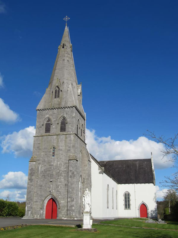 1854 &#8211; St Brigid&#8217;s Church, Ballinakill, Co. Laois